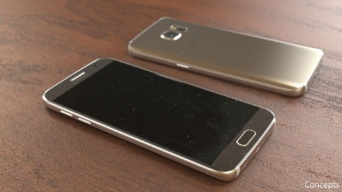 Samsung Galaxy S7 mockup picture Jermaine Smit 1