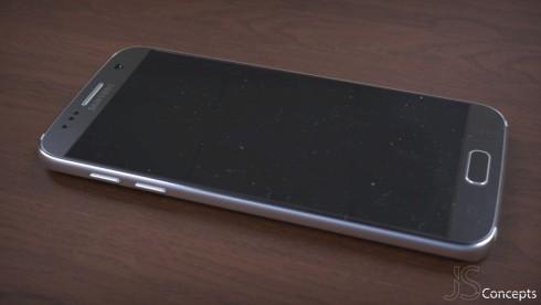 Samsung Galaxy S7 mockup picture Jermaine Smit 3