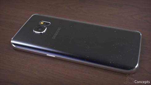Samsung Galaxy S7 mockup picture Jermaine Smit 4