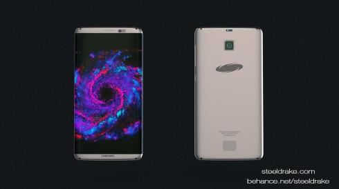 Samsung Galaxy S8 concept Steel Drake 2
