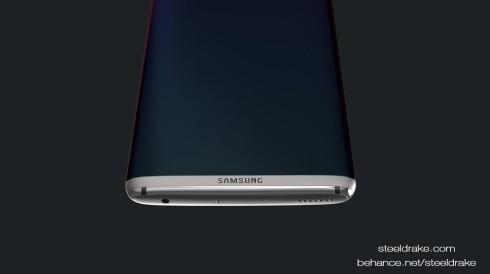 Samsung Galaxy S8 concept Steel Drake 6