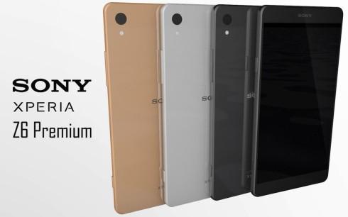 Sony Xperia Z6 Premium Concept 2