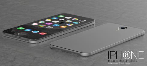 iPhone 8 concept Umberto Menasci 1