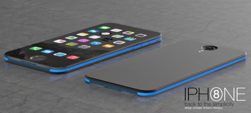 iPhone 8 concept Umberto Menasci 2