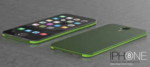 iPhone 8 concept Umberto Menasci 3