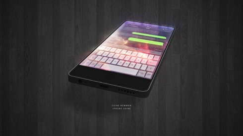 iPhone Shine concept Chike Newman 2