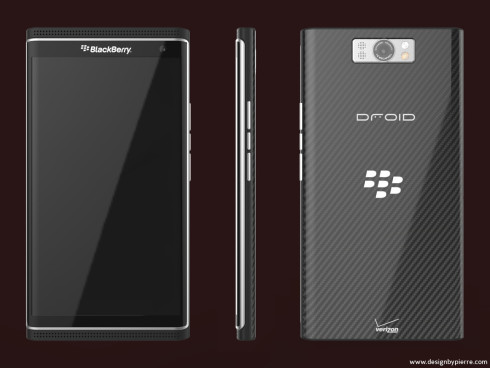BlackBerry Droid concept 2
