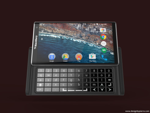 BlackBerry Droid concept 3