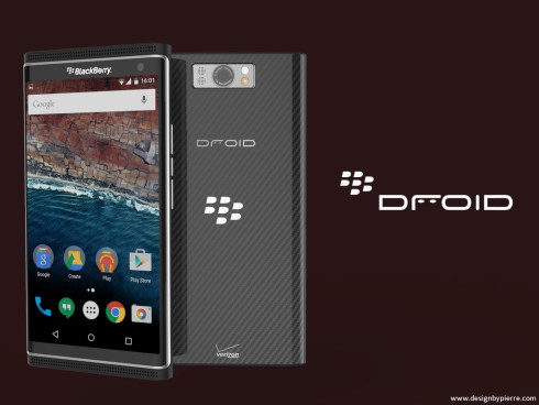 BlackBerry Droid concept 4