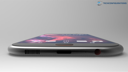 HTC One M10 realistic 3D renders 5