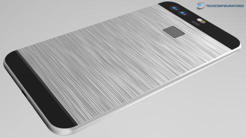 Huawei P9 realistic render (3)