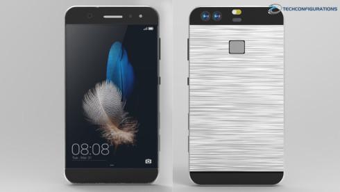 Huawei P9 realistic render (5)