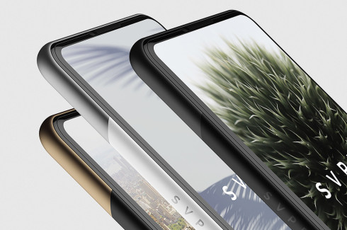 SVPER concept smartphone minimalistic 1
