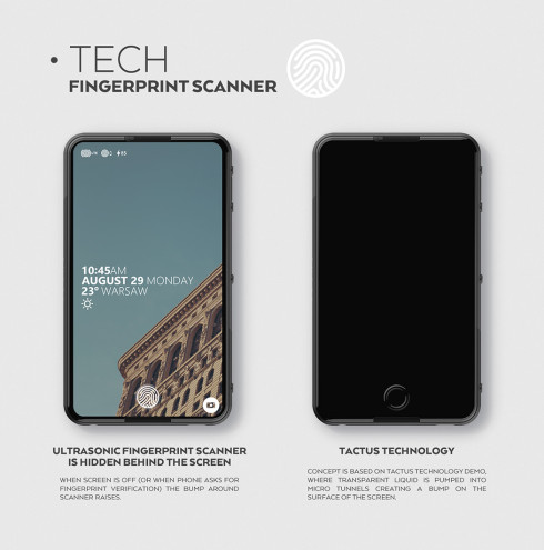 SVPER concept smartphone minimalistic 2