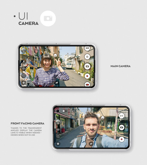 SVPER concept smartphone minimalistic 3