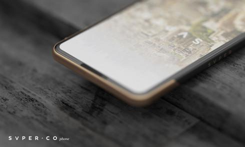 SVPER concept smartphone minimalistic 5
