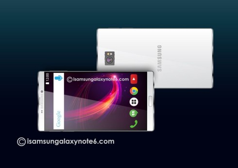 Samsung Galaxy Note 6 concept 3