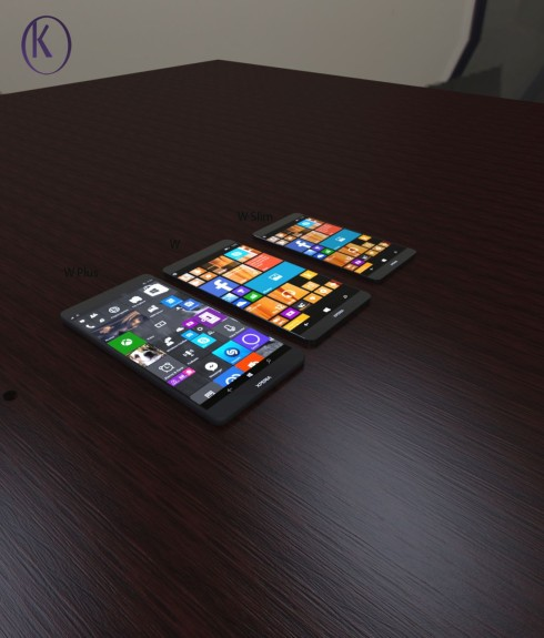 Sony Xperia W1 series concept phones 1