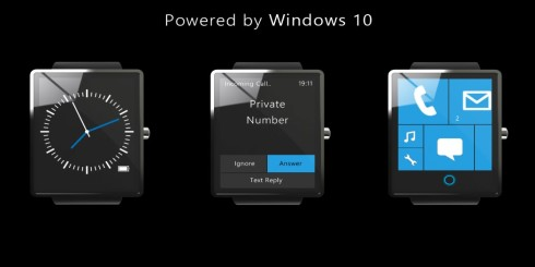 Surface watch Windows 10 concept 5