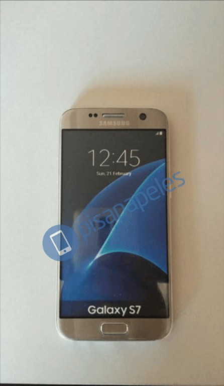 galaxy s7 gold leak 1