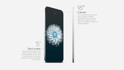 iPhone Essence concept edge to edge screen 7
