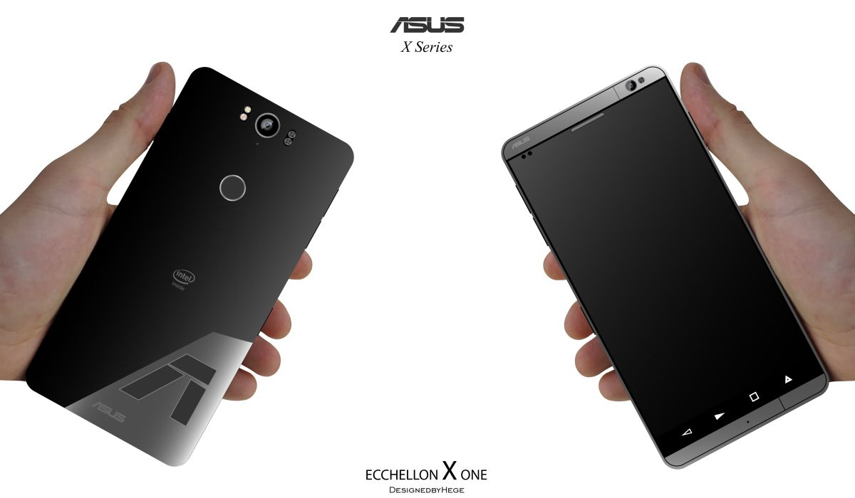 asus ecchellon x one is a minimalistic but muscular smartphone concept phones. Black Bedroom Furniture Sets. Home Design Ideas