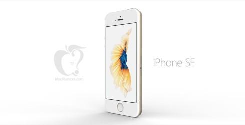 Apple iPhone SE render Tomas moyano 3