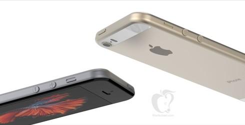 Apple iPhone SE render Tomas moyano 7