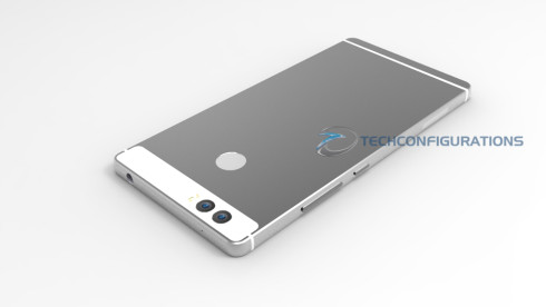 Huawei P9 dual camera render techconfigurations 1