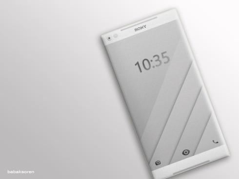 Sony Xperia X1 concept Babak Soren 1