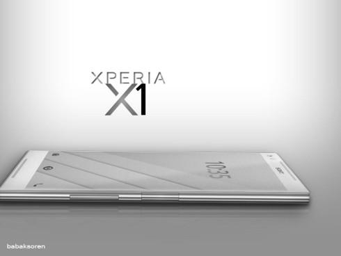 Sony Xperia X1 concept Babak Soren 3