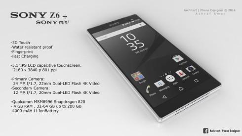 Sony Xperia Z6 concept ashraf amer (3)