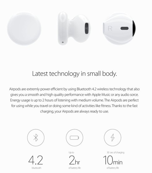 iPhone 7 airpods concept 2