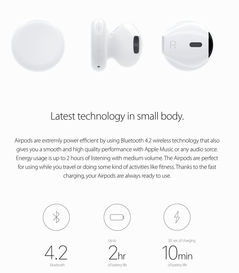 Iphone 7 Airpods Concept 2 Concept Phones
