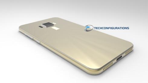 ASUS ZenFone 3 3D render (7)