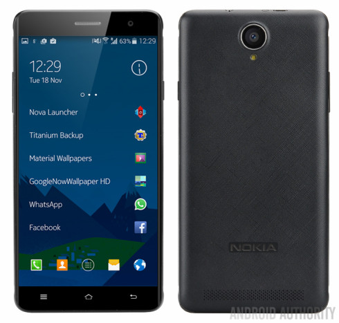 nokia a1 render android phone