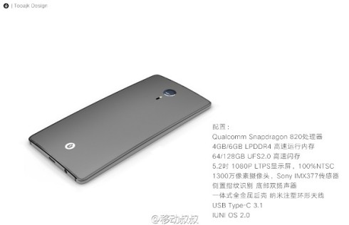 IUNI U4 concept phone 6 GB RAM (1)