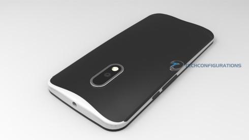Motorola Moto G4 concept 3D render (2)