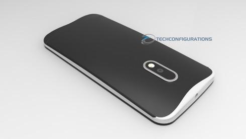Motorola Moto G4 concept 3D render (3)