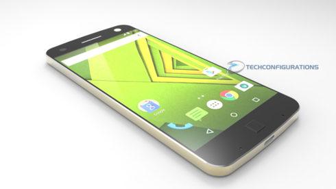 Motorola Moto X 2016 concept 3D render  (1)