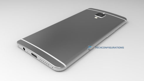 OnePlus 3 final 3D render techconfigurations  (5)