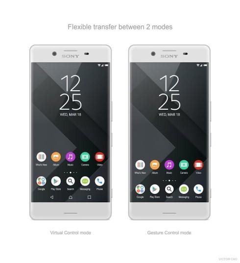 Sony Xperia X Premium concept Victor Cao  (3)