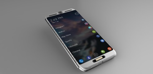 futuristic phone concept triple screen (4)