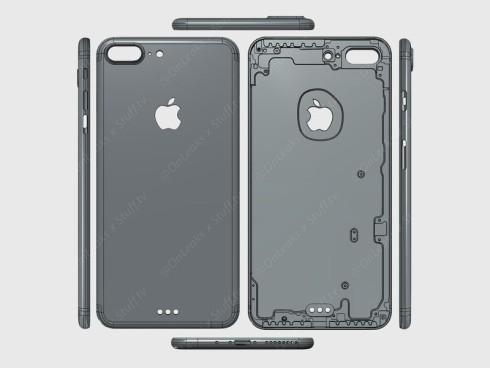 iPhone 7 Pro CAD render Onleaks (1)