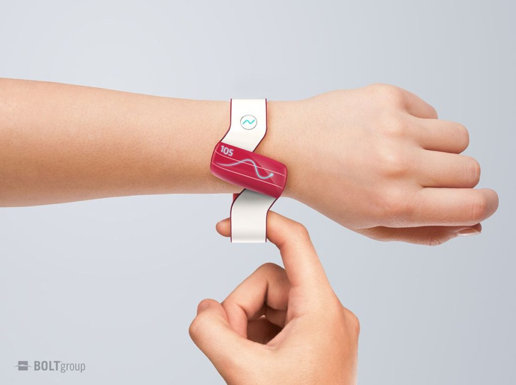 sugar smartwatch for diabetics glucometer concept (4)