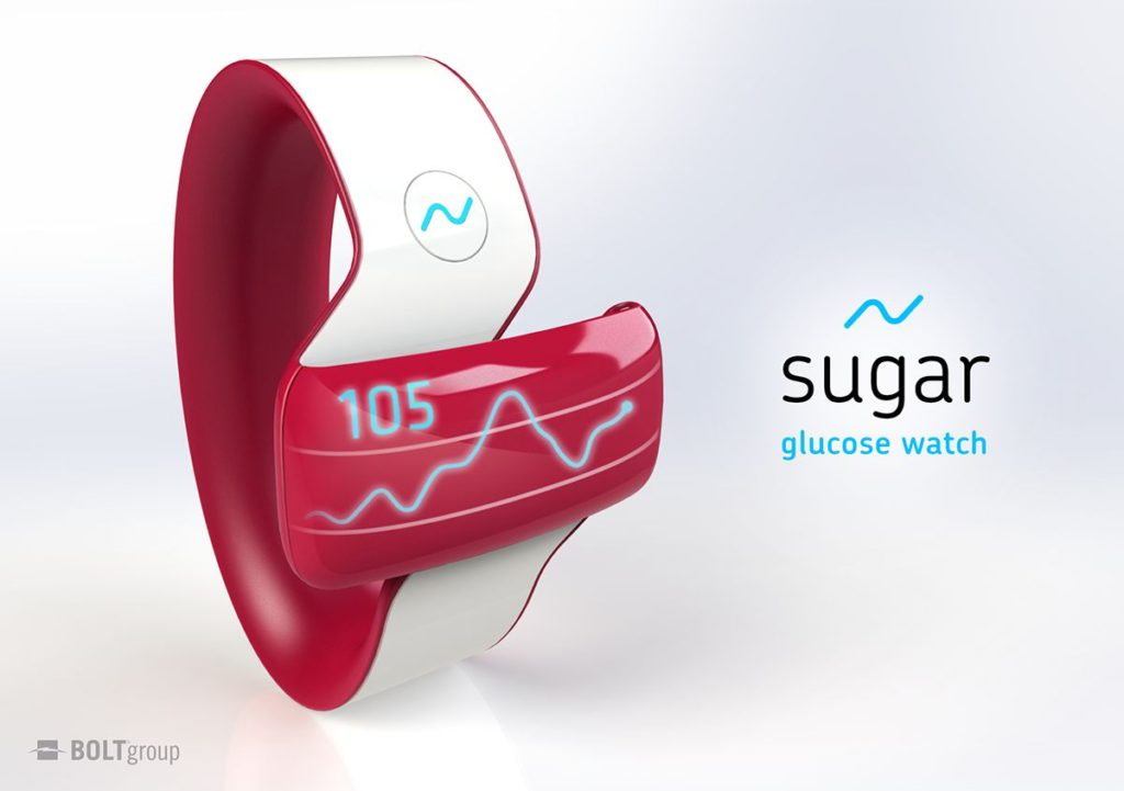sugar smartwatch for diabetics glucometer concept (6)
