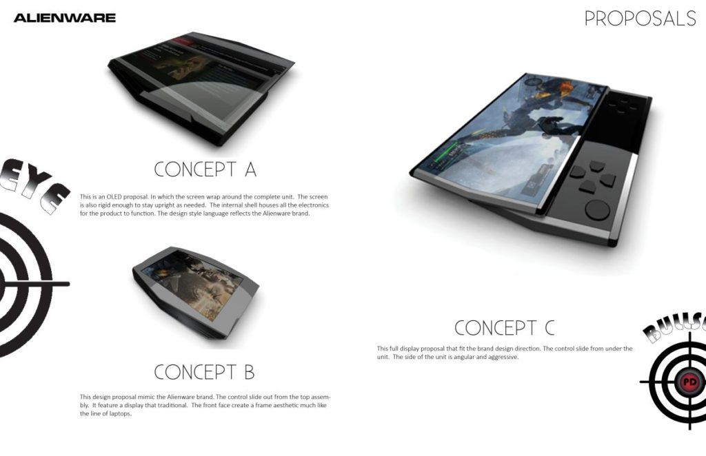 Alienware Handheld device concept  (1)