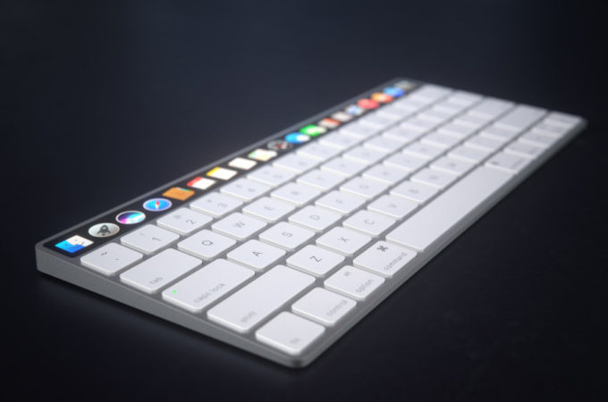 980fa826cdf Apple Magic Keyboard Gets the OLED Touch (Video) | Concept Phones