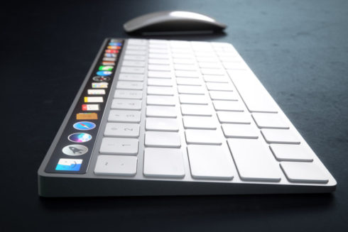 Apple Magic Keyboard OLED concept (7)