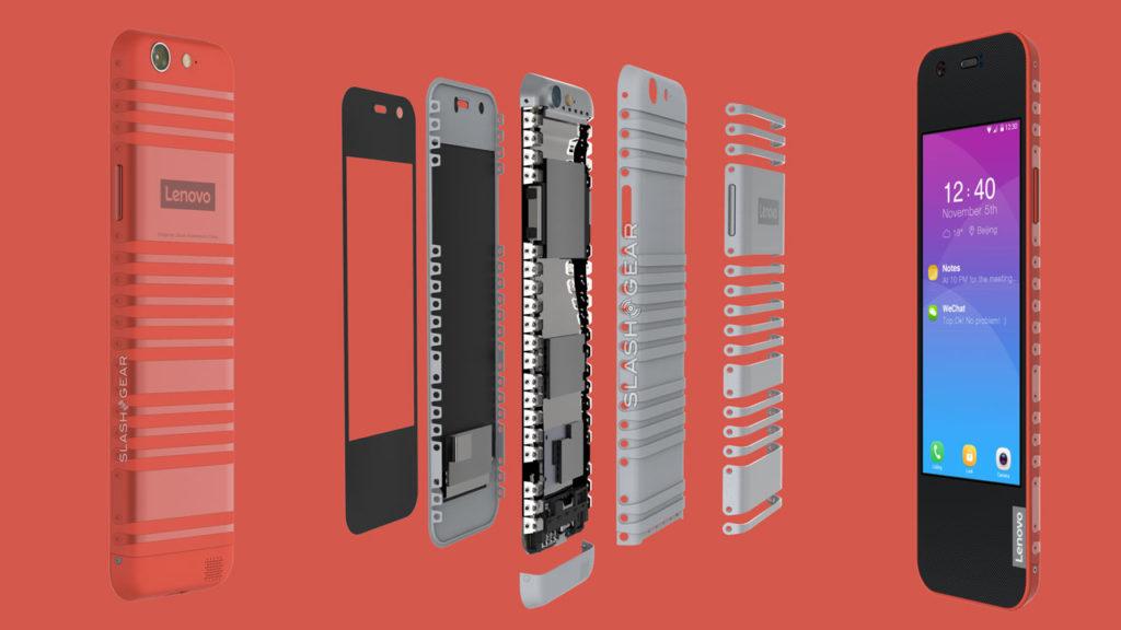 Lenovo Cplus foldable phone concept
